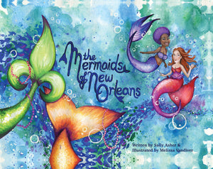 """The Mermaids of New Orleans"" Children's Book"