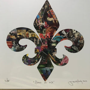 "Josh Hailey ""Fleur De Lis"" Limited Edition Print"