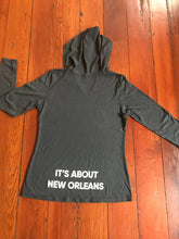 Load image into Gallery viewer, It's about New Orleans™ Light Weight Women's Hooded Sweatshirt