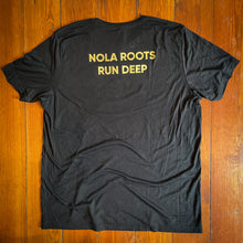 "Load image into Gallery viewer, ""NOLA ROOTS RUN DEEP"" CHARITY TEE SHIRT"