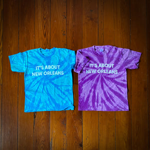 ITS ABOUT NEW ORLEANS YOUTH TIE DYE
