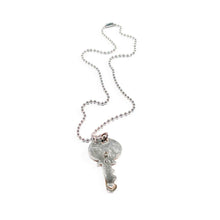 "Load image into Gallery viewer, ""Key to Joy"" Sterling Silver Necklace"