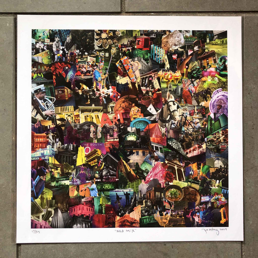"Josh Hailey ""Nola Mix"" Limited Edition Print"