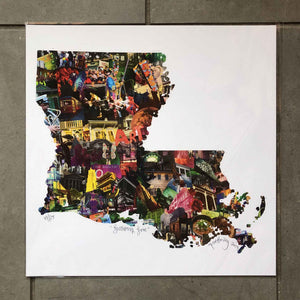"Josh Hailey ""Louisiana Love"" Limited Edition Print"