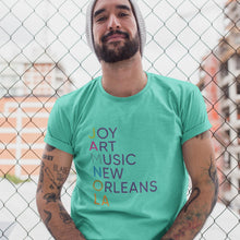 Load image into Gallery viewer, Joy Art Music New Orleans T-Shirt/ Men's