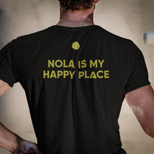 Load image into Gallery viewer, Nola Is My Happy Place Map Tee