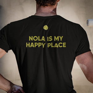 Nola Is My Happy Place Map Tee
