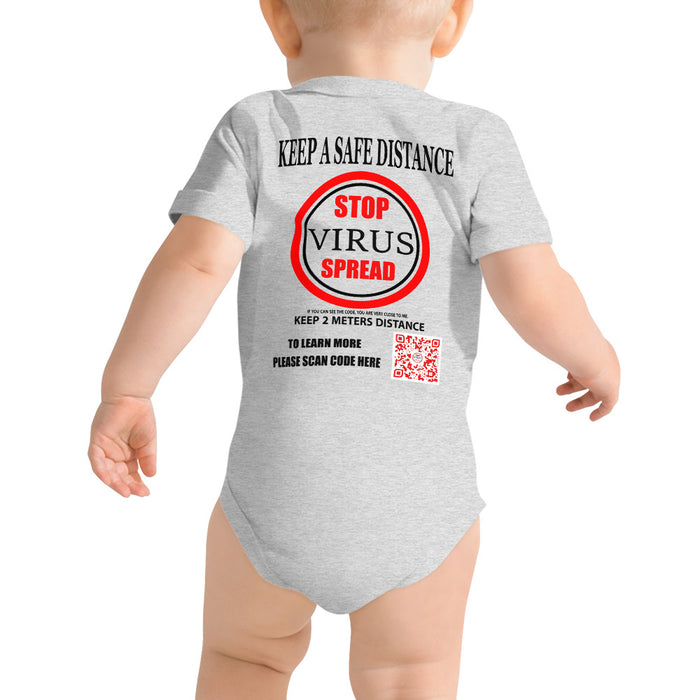T-Shirt KIDS BABY SUPPORT Red label in meter