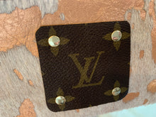 Load image into Gallery viewer, REPURPOSED AUTHENTIC LV ROSE GOLD COIN PURSE