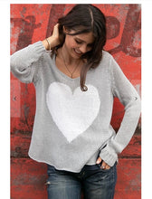 Load image into Gallery viewer, Juliet heart sweater