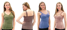 Load image into Gallery viewer, LACE TRIM CAMI one size