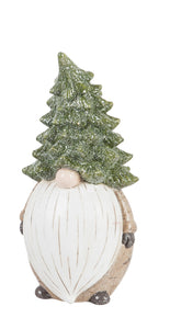 "11.5"" Holiday Garden Gnome with Large Beard"