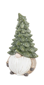 "11.5"" Holiday Garden Gnome with Large Hat"