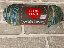 Load image into Gallery viewer, Red heart with love yarn