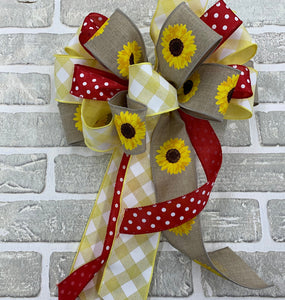 Sunflower Bow