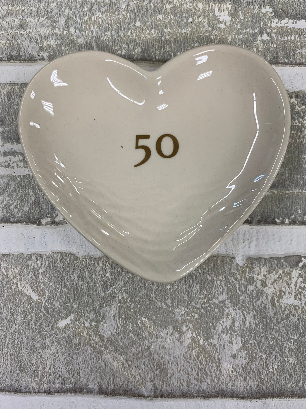 50 year wedding anniversary ring tray
