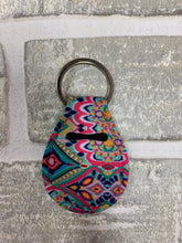 Load image into Gallery viewer, Breast cancer ribbon chapstick holder keychain blanks