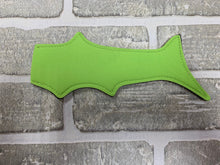 Load image into Gallery viewer, Lime green shark popsicle holder blanks