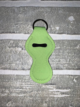 Load image into Gallery viewer, Lime green chapstick holder keychain blanks