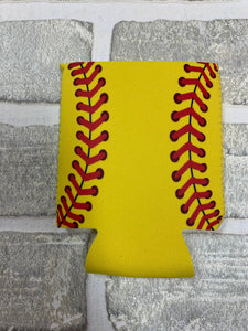 Softball koozie blanks