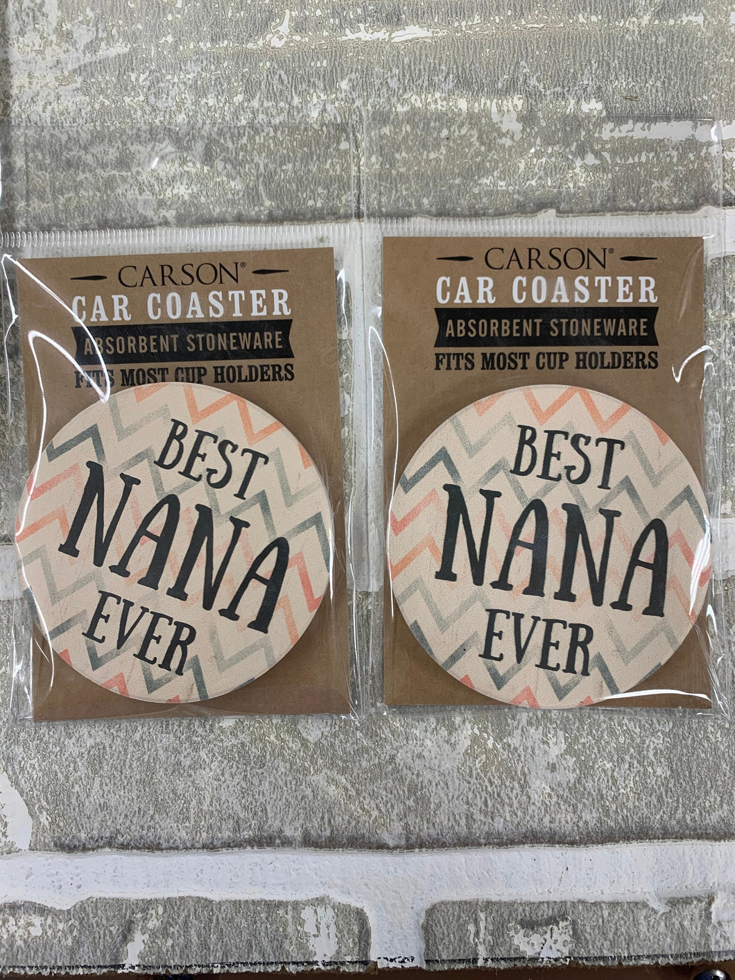Best nana ever car coasters