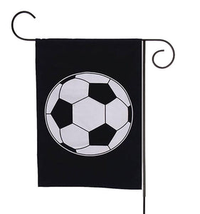 Soccer sports flag blanks