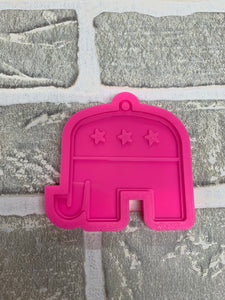 Republican elephant mold