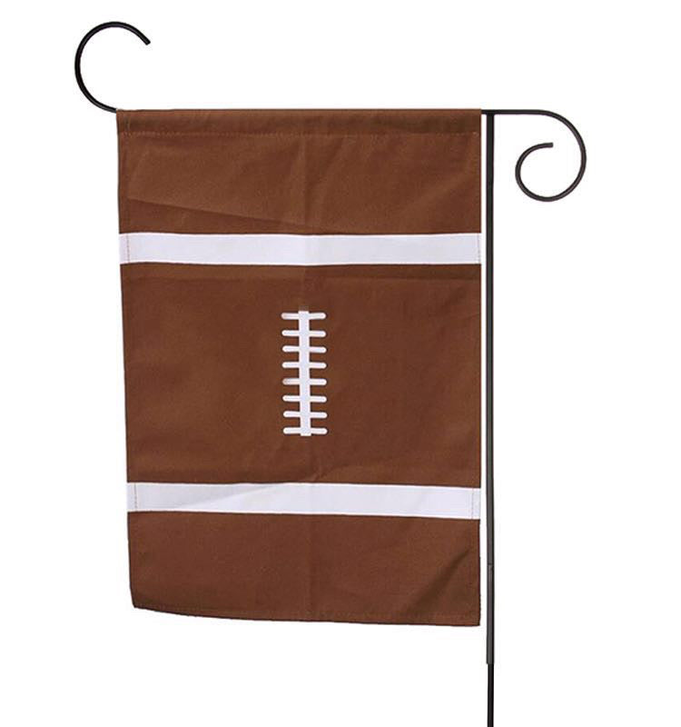 Football sports flag blanks