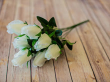 Load image into Gallery viewer, White Closed Bud Rose Bush
