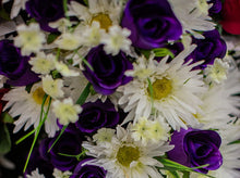 Load image into Gallery viewer, Daisy and Purple Rose Bush