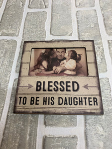 His daughter plaque frame