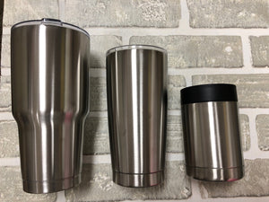 20oz stainless steel tumbler