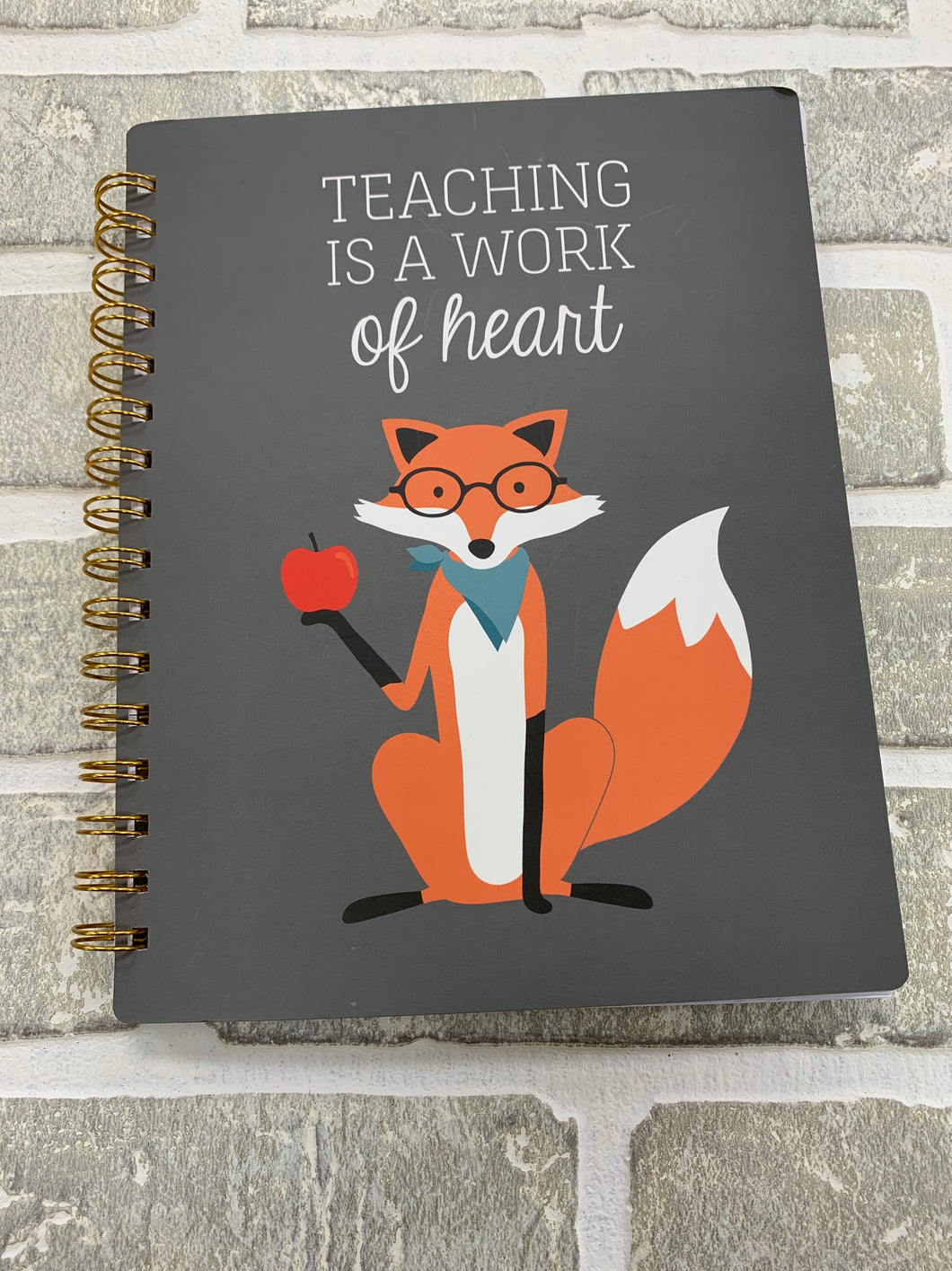 Teaching is- spiral notebook