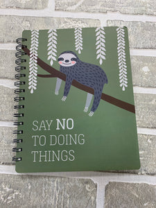 Doing things spiral notebook