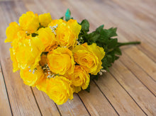 Load image into Gallery viewer, Yellow Giant Open Rose Bush