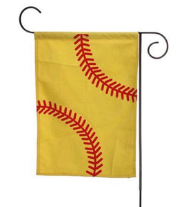 Softball sports flag blanks
