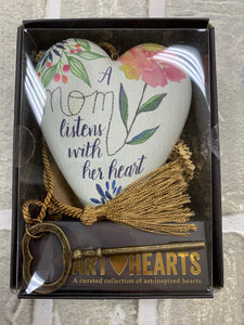 A mom listens with her heart keepsake box