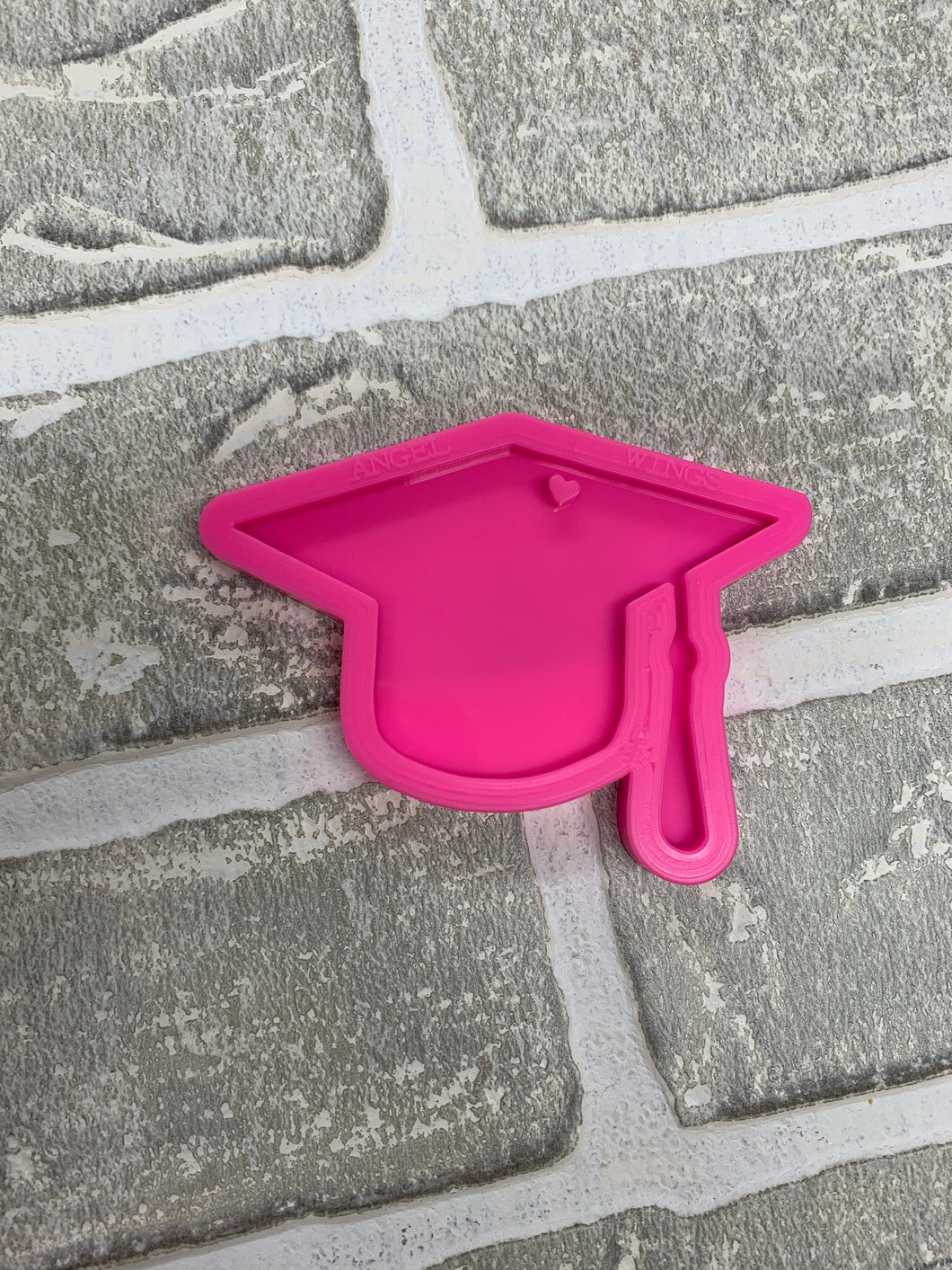 Plain graduation cap mold
