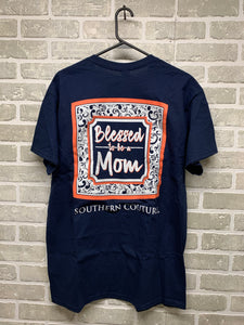 Blessed to be a mom graphic tee