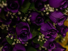 Load image into Gallery viewer, Purple Rose Bud Bush