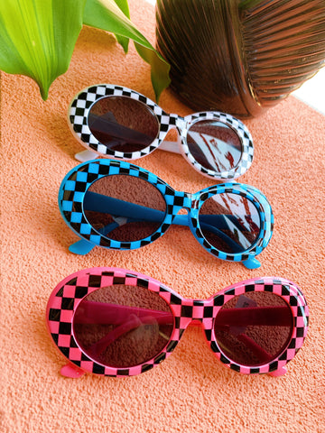 Checkered Sunglasses