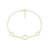 Gold Shelley Anklet