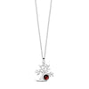 Garnet Tree of Life Necklace
