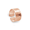 Rose Gold Beaten Ring