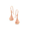 Rose Gold Bell Earrings