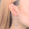 Teardrop Ball Earrings