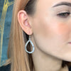 Hollow Teared Beaten Earrings