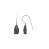 Marcasite Teardrop Earrings