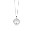 Tree of Life & Cubic Zirconia Necklace