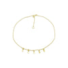 Star Anklet Gold